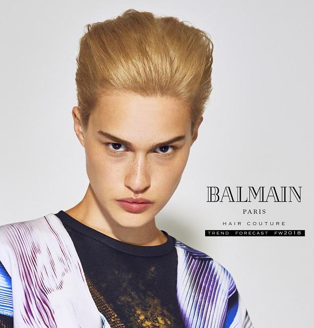 Balmain hair model Ella