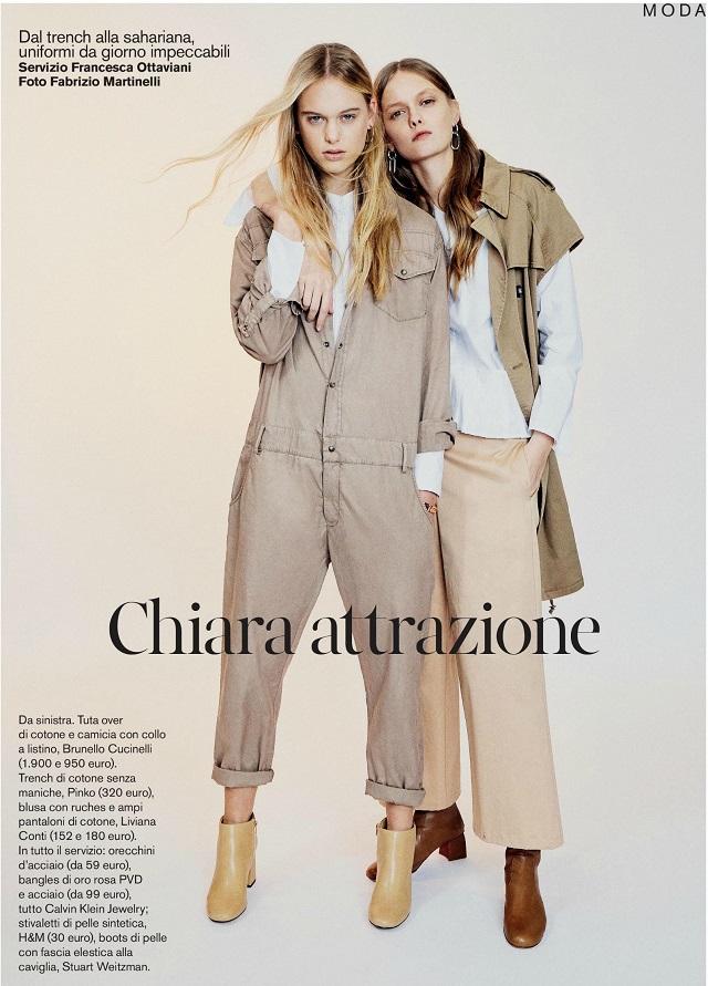 Chiara for Drepubblicait Magazine