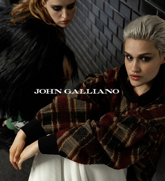 Ella for John Galliano