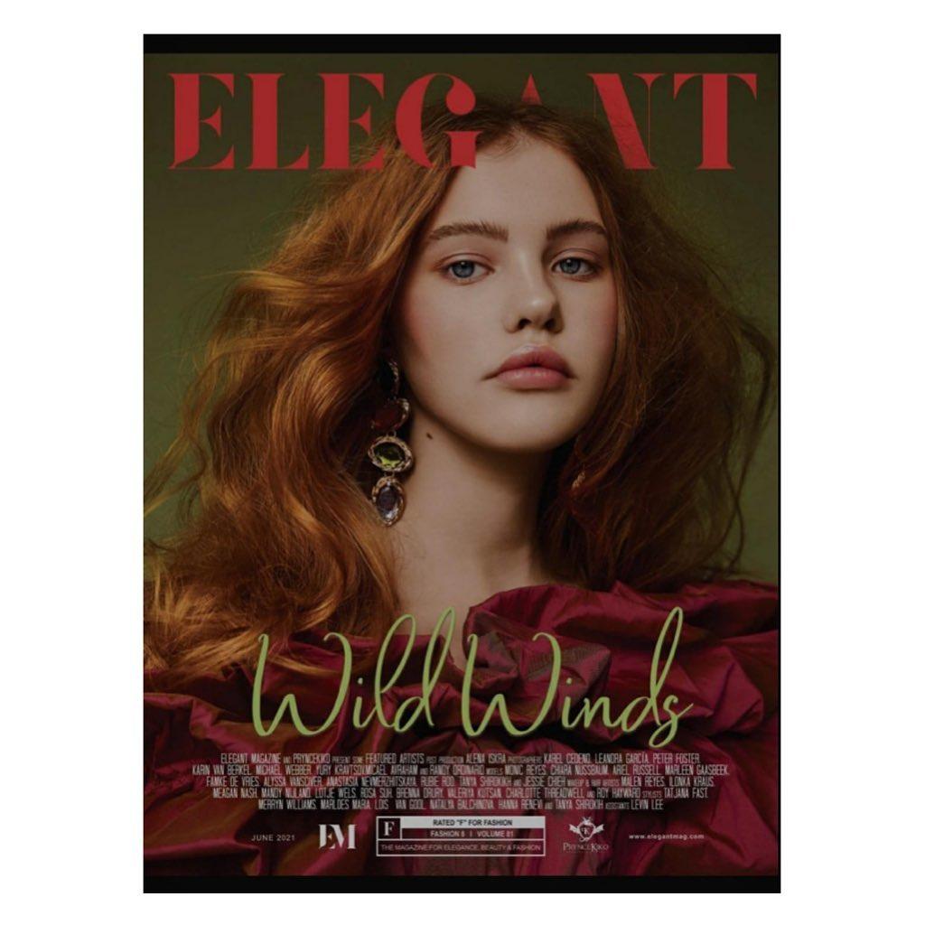 Famke for Elegantmagazine USA